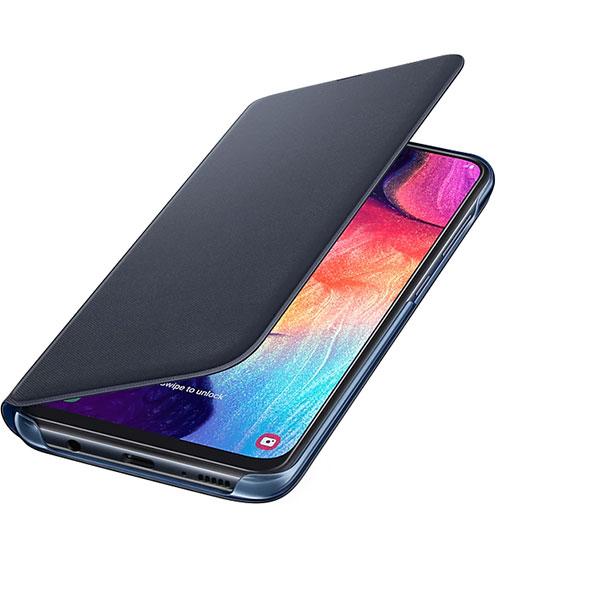 Husa Flip Walet pentru SAMSUNG Galaxy A50 EF-WA505PBEGWW, negru
