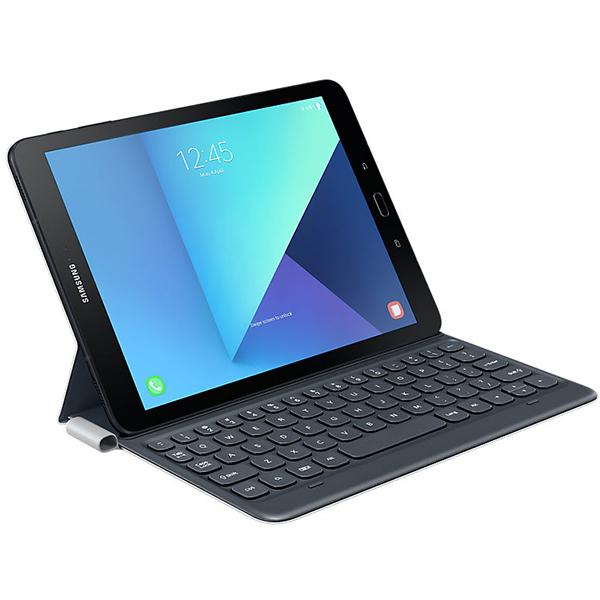 Husa Flip SAMSUNG EJ-FT820USEGWW cu tastatura pentru Galaxy Tab S3 T820/T825, Gri