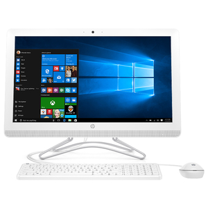 "Sistem PC All in One HP 24-f0017nq, 23.8"" Full HD, Intel Core i3-8130U pana la 3.4GHz, 4GB, 1TB, Intel UHD Graphics 620, Windows 10 Home"