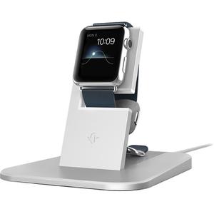 Stand incarcare pentru Apple Watch HiRise 12-1503, argintiu