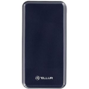 Baterie externa TELLUR TLL158181, 10000mAh, 1xTypeC, 1xUSB, Blue
