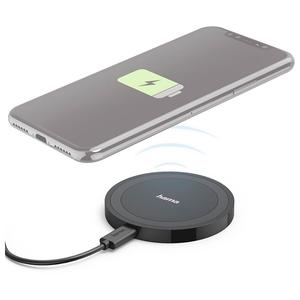 Incarcator wireless HAMA 173674, universal, QI, negru