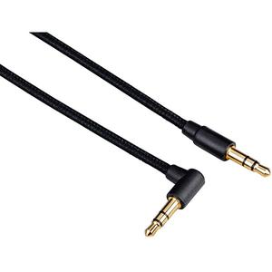 Cablu audio HAMA 173872, jack 3.5 mm, 1m, Negru
