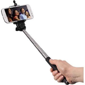 Selfie stick HAMA 4284 Moments 100, Bluetooth, black