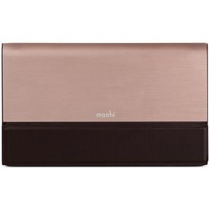 Baterie externa MOSHI IonBank, 10000mAh, 2xUSB, aluminiu, bronz