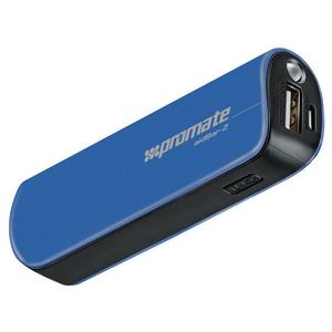 Baterie externa PROMATE aidBar-2, 2500mAh, 1xUSB, Blue