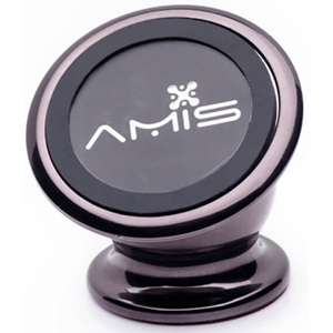 Suport auto universal AMIS Air Cm 001, magnetic, bord, negru