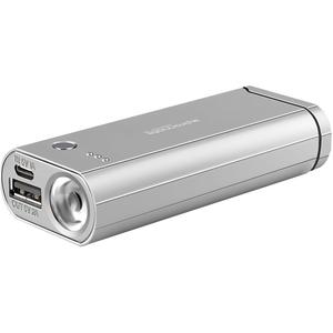 Baterie externa PROMATE Blazer-6, 6000mAh, 1xUSB, Argintiu