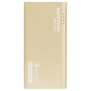 Baterie externa PROMATE BoltQC, 9000mAh, 2xUSB, Gold