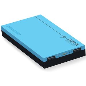 Baterie externa PROMATE Cloy-8, 8000mAh, 2xUSB, Blue