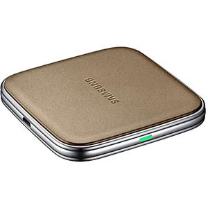 Incarcator Wireless pentru SAMSUNG EP-PG900IFEGWW, universal, QI, auriu