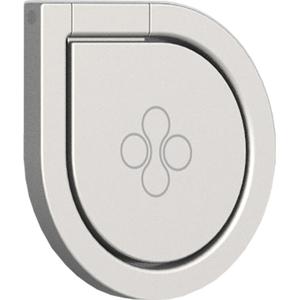 Suport tip inel pentru smartphone, PROMATE GripMate-2, Argintiu