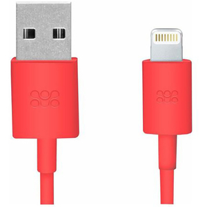 Cablu date PROMATE linkMate-LT, Lightning, 1.2m, rosu