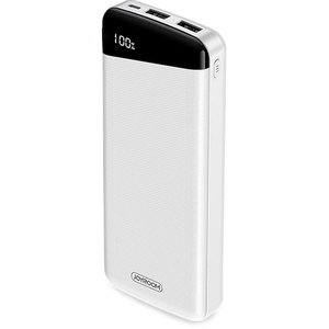 Baterie externa JOYROOM D-M195 Plus, 20000mAh, 2xUSB, plastic, alb
