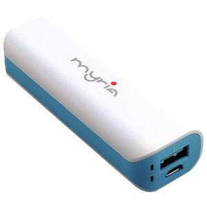 Baterie externa MYRIA MU01-BU, 2000mAh, 1xUSB, albastru