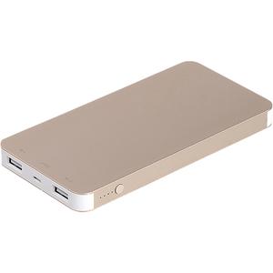 Baterie externa MYRIA MY9201GD, 4000mAh, 2xUSB, gold