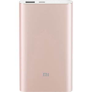 Baterie externa XIAOMI Mi Pro 10000mAh, 1xUSB, Type C, roz