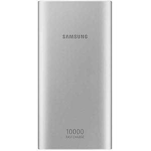 Baterie externa SAMSUNG EB-P1100CSEGWW, 10000 mAh, 2xUSB/Type C, argintiu