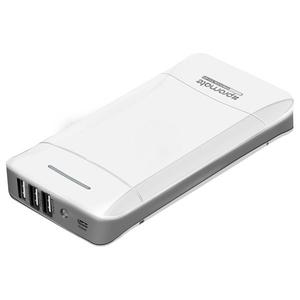 Baterie externa PROMATE proVolta-21, 20800mAh, 3xUSB, white