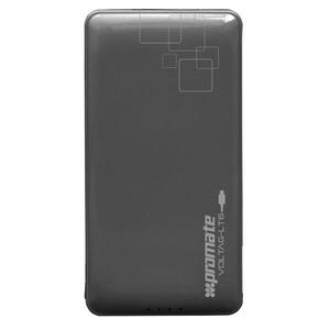 Baterie externa PROMATE volTag-LT6, 6000mAh, 1xLightning, 1xUSB, Black