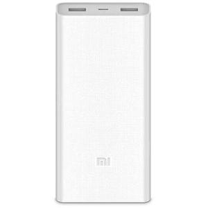 Baterie externa XIAOMI Mi Power Bank 2C 20000mAh, 2xUSB, alb