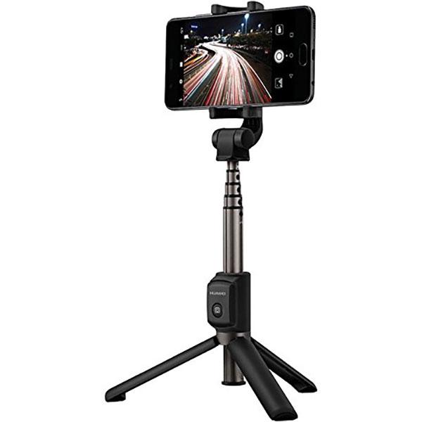 Selfie stick wireless cu trepied HUAWEI AF15, Negru