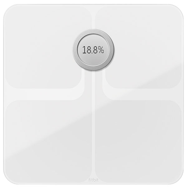 Cantar inteligent FITBIT Aria 2, White