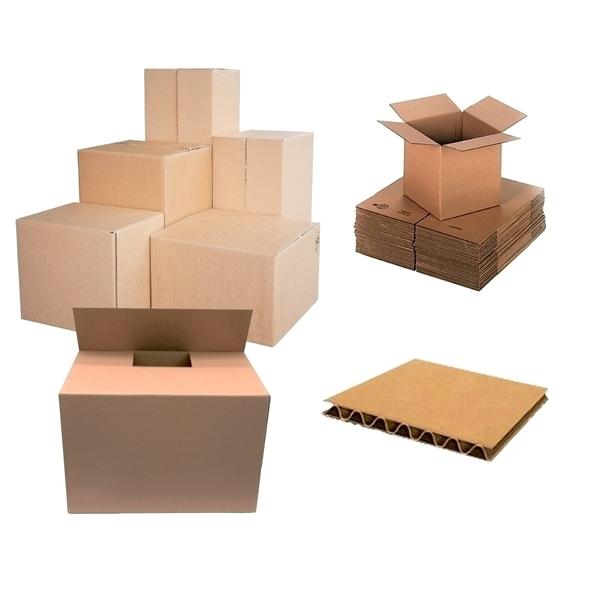 Cutie de arhivare RTC, 800 x 400 x 400 mm, carton, 10 bucati, maro