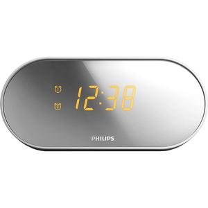 Radio cu ceas PHILIPS AJ2000/12, FM, argintiu