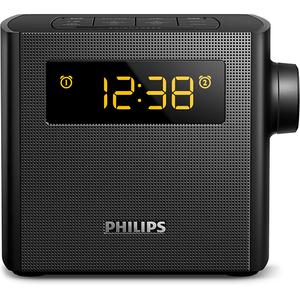 Radio cu ceas PHILIPS AJ4300B/12, FM, Afisare LCD, negru