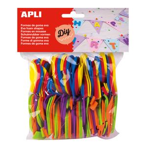 Set creativ APLI Numere, 120 bucati, diverse culori