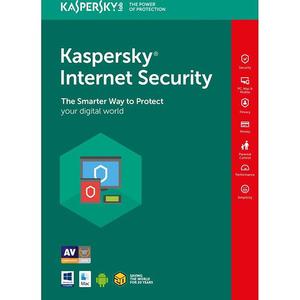 KASPERSKY Internet Security 2019, 1 an, 3 utilizatori, Retail