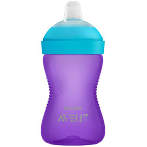 Cana PHILIPS AVENT SCF802/02, 9 luni +, 300ml, mov - bleu
