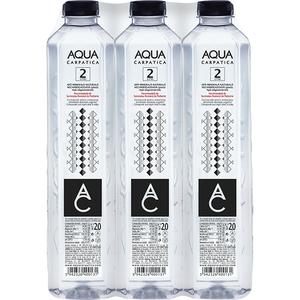 Apa minerala plata AQUA CARPATICA 2L, bax, 6 sticle