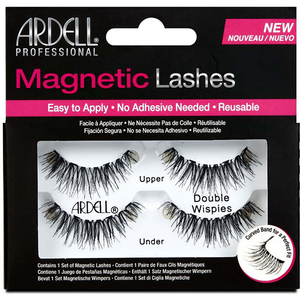 Set gene false magnetice ARDELL Double Wispies, negru, 2 perechi