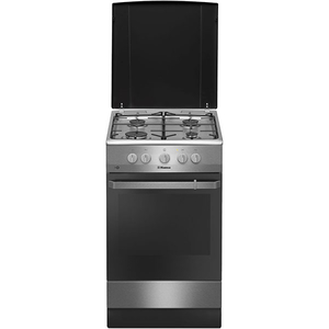 Aragaz HANSA FCGX58099, 4 arzatoare, gaz, negru
