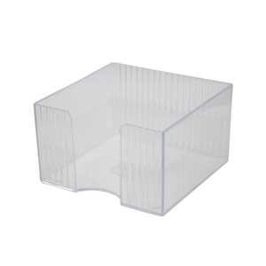 Suport cub hartie FLARO Star, plastic, transparent
