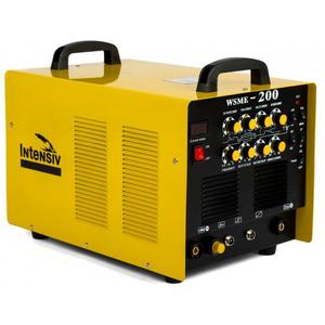 Invertor de sudura aluminiu TIG/WIG INTENSIV WSME 200 AC/DC, 5-200/10-160, 7.1KVA