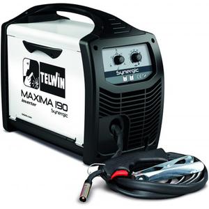 Aparat de sudura tip MIG-MAG TELWIN Maxima 190 Synergic, 20-170A