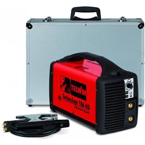 Aparat de sudura Invertor TEWIN Technology 186 HD, 5-160A, 5KW