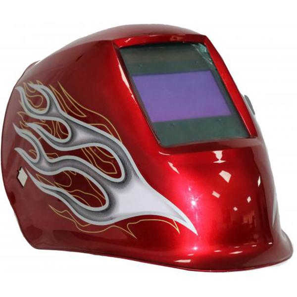 Masca de sudura cu cristale lichide INTENSIV 53047, 4 Senzori, RED XL