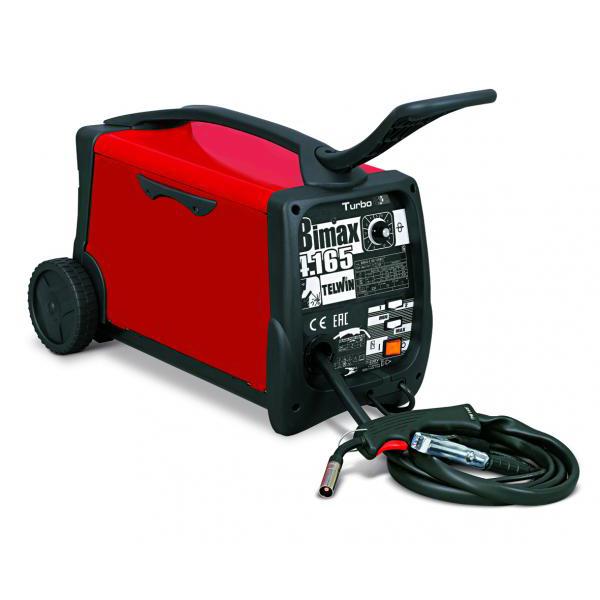 Aparat de sudura tip MIG-MAG TELWIN Bimax 4.165 Turbo, 30-145A