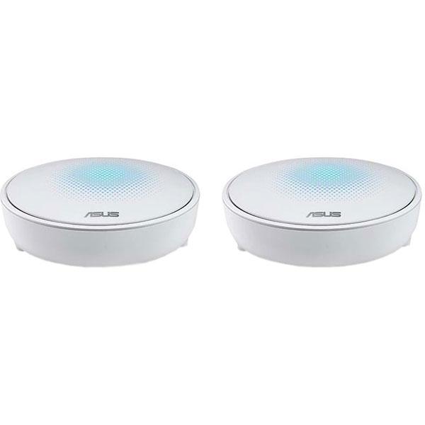 Sistem Wireless Mesh ASUS Lyra AC2200, Tri Band 400 + 867 + 867 Mbps, 2 Buc, alb