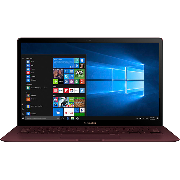 "Ultrabook ASUS ZenBook UX391UA-ET082T, Intel Core i5-8250U pana la 3.4Ghz, 13.3"" Full HD, 8GB, SSD 256GB, Intel UHD Graphics 620, Windows 10 Home, Burgundy Red"