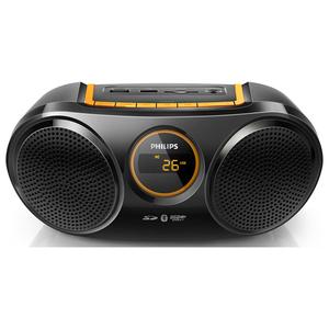 Radio portabil PHILIPS AT10/00, Bluetooth, USB, FM, negru