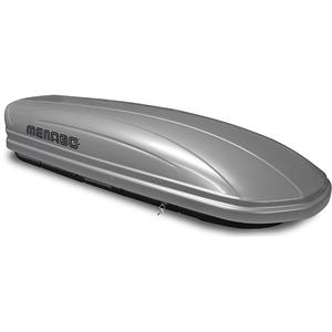 Cutie portbagaj MENABO Mania 400 Silver, 400l, gri