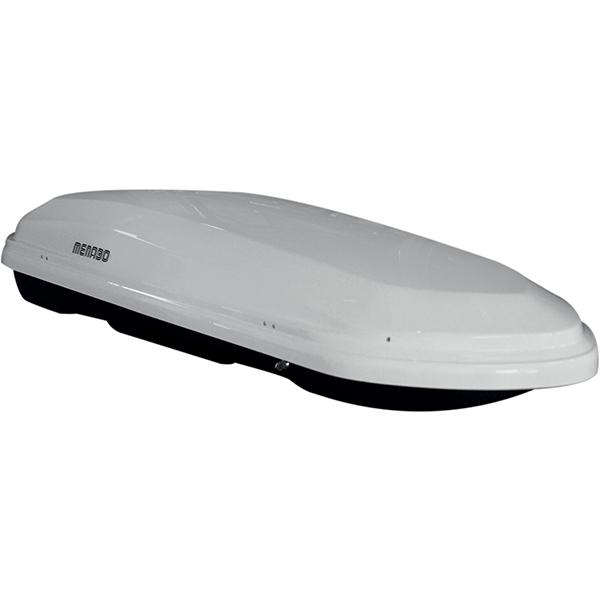Cutie portbagaj MENABO Diamond 450 White, 450l, alb