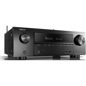 Receiver DENON AVR-X1500, Dolby Atmos, Wi-Fi, Bluetooth, 4K, 7 x 80W, negru