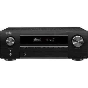 Receiver DENON AVR-X250BT, Ultra HD, Bluetooth, negru