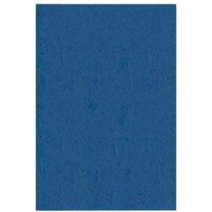 Coperta indosariere A-SERIES, A4, 250 g/mp, imitatie piele, 100 bucati, albastru